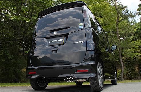 FGK(フジツボ)オーソライズKマフラーMK21S パレット SW NA 2WD