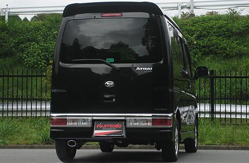 FGK(フジツボ)オーソライズKマフラーS321G アトレーワゴン カスタム ターボ 2WDダブル
