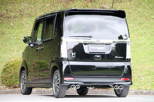 FGK(フジツボ)オーソライズSマフラーJF1 N BOX カスタム ターボ 2WD