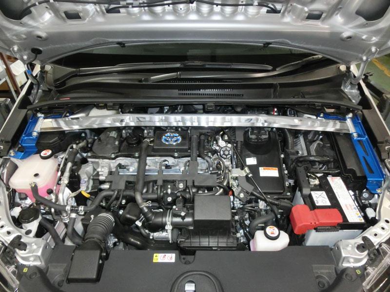 CUSCO(クスコ) タワーバー・オーバルシャフトフロントトヨタ カローラスポーツ ZWE211H(ハイブリッド/2WD)NRE210H(ガソリン/2WD)