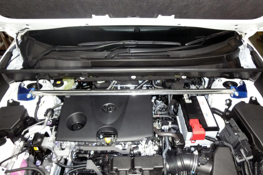 CUSCO(クスコ) タワーバー・オーバルシャフトフロントトヨタ RAV4 MXAA54 (ガソリン/4WD)AXAH52(ハイブリッド/2WD)AXAH54(ハイブリッド/4WD)