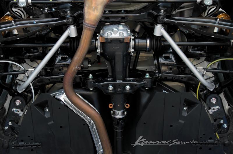 Kansai SERVICE(HKS関西サービス)リアロアアームバー スチールシャフト レヴォーグ VMGVM4(1.6Lエンジン搭載車)未確認