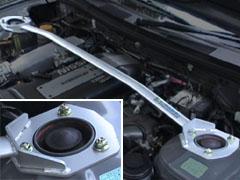 OKUYAMA (オクヤマ)CARBINGストラットタワーバースチール/フロント/タイプIシルビア S14/S15