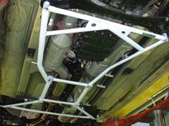 OKUYAMA (オクヤマ)CARBINGロワアームバーフロント・リアセット/タイプIIRX-8 SE3P