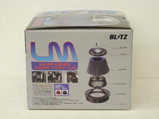 BLITZ(ブリッツ) SUSパワーLM エアクリーナーアリスト JZS161