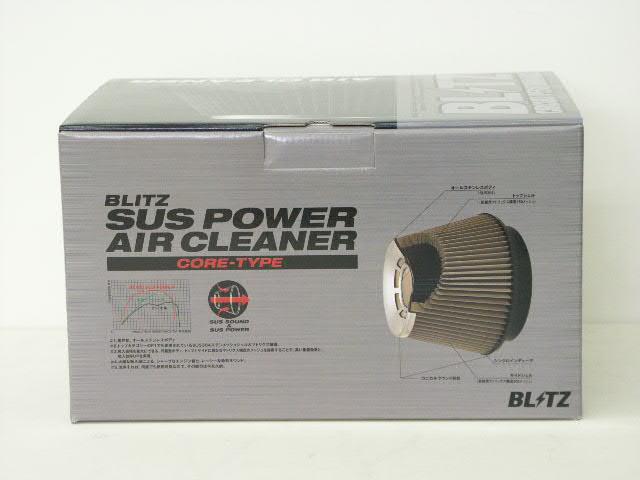 BLITZ(ブリッツ) SUSパワー エアクリーナーランサーEVOワゴン CT9W