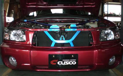 CUSCO(クスコ) パワーブレース フロントメンバーフォレスター SG5 (A/T車)