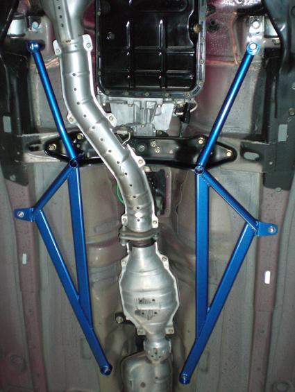 CUSCO(クスコ) パワーブレース フロアセンターフォレスター SG5 (A/T車)