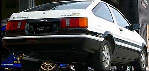 GP SPORT(ジーピースポーツ)EXAS EVO Tune(エグザス エボチューン)レビン/トレノ E-AE86