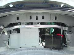 OKUYAMA (オクヤマ)CARBINGストラットタワーバーアルミ/リア/タイプRランサーEvo X CZ4A