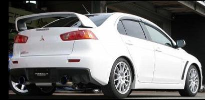 GP SPORT(ジーピースポーツ)EXAS EVO Tune(エグザス エボチューン)ランエボ10 CBA-CZ4Aリアピース交換タイプ