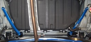 CUSCO(クスコ) パワーブレース フロアリアサイドノア・ヴォクシー ZRR70W/ZRR70G (2WD)