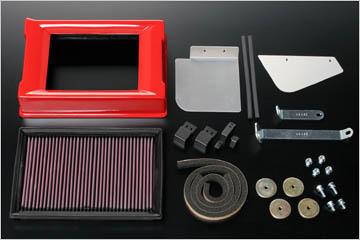 AutoExe (オートエグゼ)スポーツインダクションボックス(K&Nフィルター付)アクセラ BLEFW/BLEFP 2WD車(MS除く)プレマシー CWEFW 2WD車