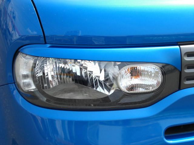 NSスタイル アイライン 左右セットキューブ Z12,NZ12 H20.11~純正カラー塗装済み