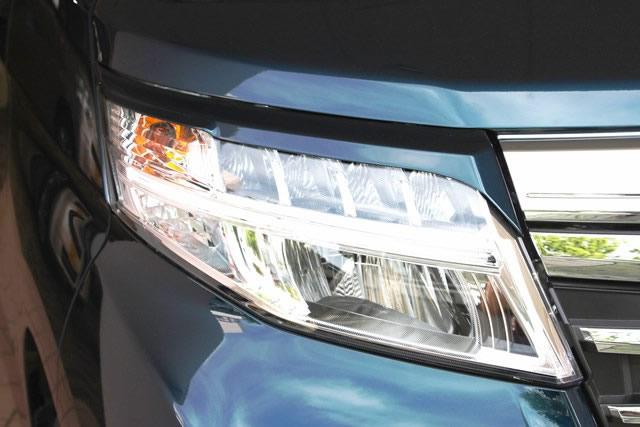 NSスタイル アイライン左右セットルーミーカスタム M900A,910A LED用 H28.11~純正カラー塗装済み