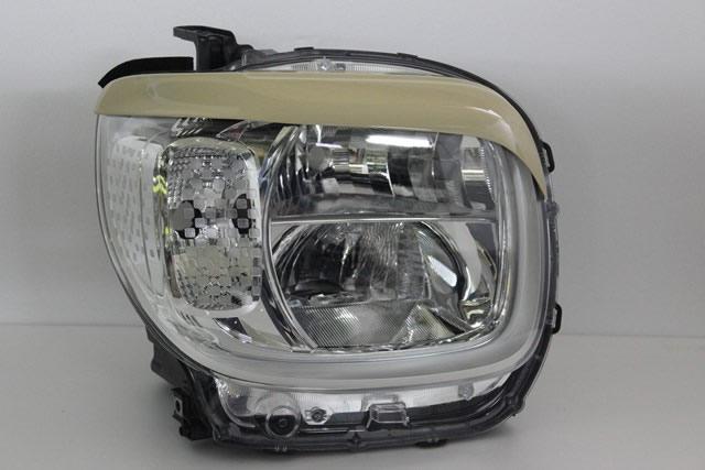 NSスタイル アイライン 左右セットスペーシアハイブリッド(LED) MK53S H29.12~純正カラー塗装済み