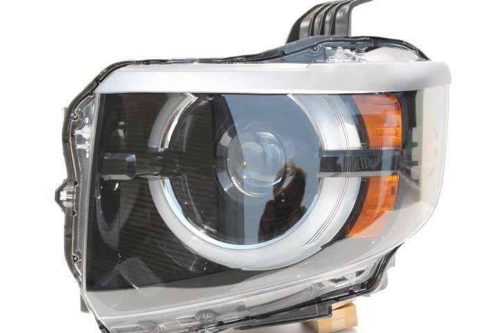 NSスタイル アイライン 左右セットN VAN(LED) T-1 JJ1,JJ2 H30.7~純正カラー塗装済み