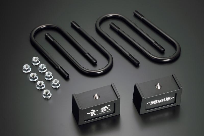 moonface(ムーンフェイス) Genbハイトダウンブロック ハイエース TRH/KDH200系 -2.5inch/62.5mm