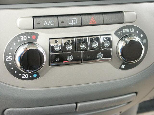 ワゴンスター 内外装パーツ【タントカスタム L350S】オートエアコンスイッチカバー9点セット