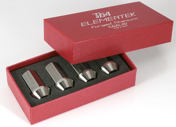 16개 세트■카푸치노/EA21R/스즈키■M12×P1. 25■티탄 합금제 단조 너트 Ti64 ELEMEMTEK Titanium Nut※락 없음