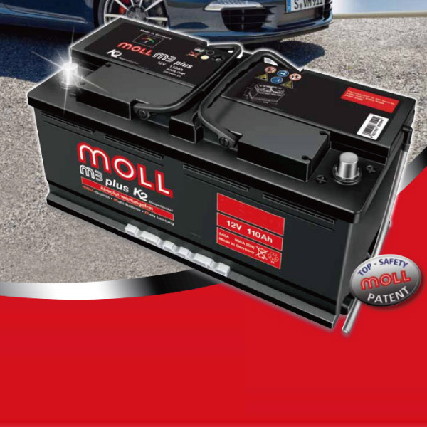 Moll Mole Battery Volkswagen Pat Gh 3bamxf 04 Highest Premium Starter 2 Year Warranty