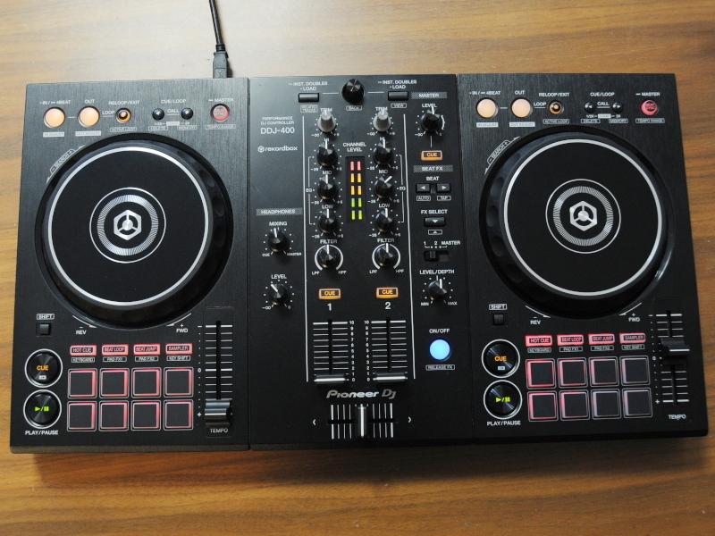 【送料無料!品】 Pioneer DJ DDJ-400 パイオニア DJコントローラー 【日祝発送OK】【モバックス】