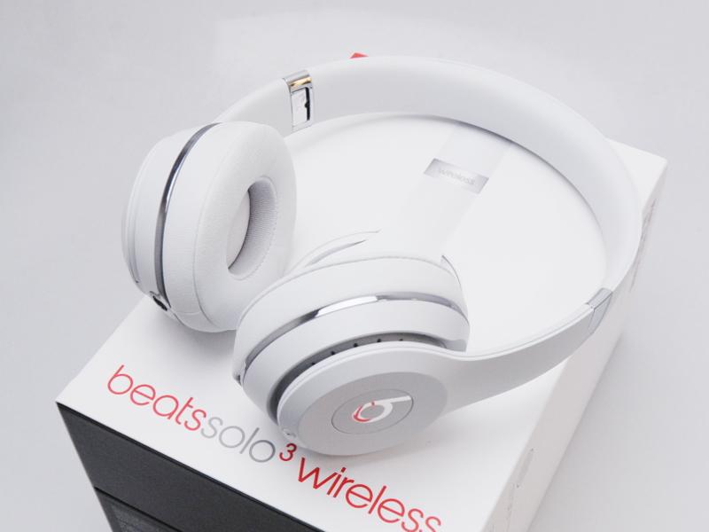 【送料無料!中古美品】【保証切れ】 Beats by Dr Dre SOLO3 WIRELESS サテンシルバー MUH52PA/A 【日祝発送OK】【モバックス】