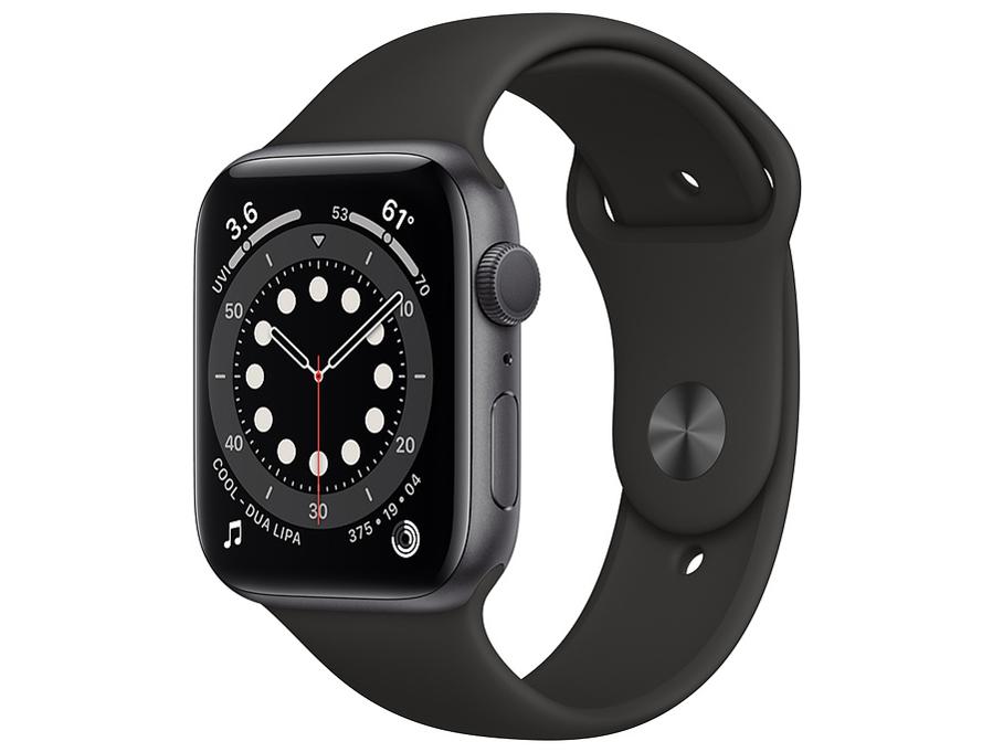【再入荷】 【送料無料!新品未開封品 Apple】 本体 Apple Watch Watch 44mm Series6 GPSモデル M00H3J/A スペースグレイアルミニウムケースとブラックスポーツバンド 本体【モバックス梅田】, ヒットライン:5bc72e73 --- sturmhofman.nl