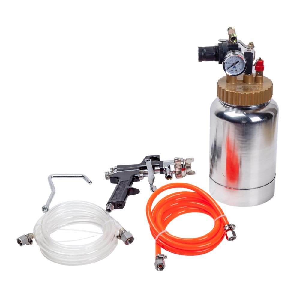 加圧式スプレーガン 2L ノズル2.0mm エアースプレーガン 塗装ガン