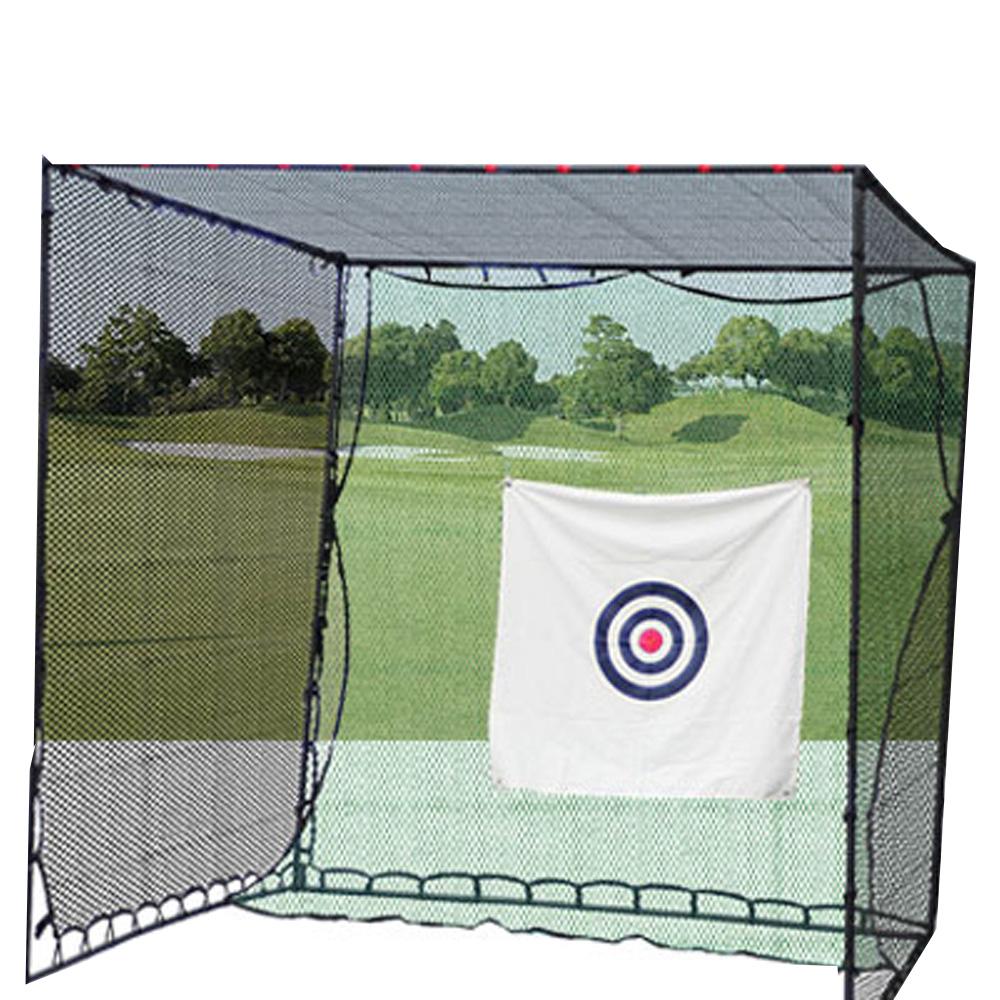 【エントリーでポイント10倍】【送料無料】 大型ゴルフ練習ネット 長さ3m×幅3m×高さ3m 簡単練習 大型ネット 安全性と使い易さを追求!プロ仕様のゴルフ練習ネット 目印付 ゴルフネット 【スポーツ・アウトドア】