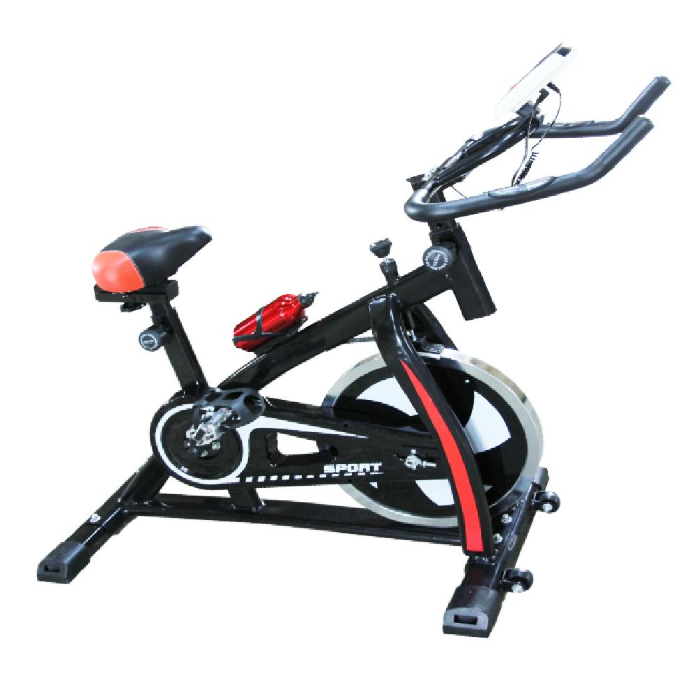【エントリーでポイント5倍】【送料無料】 エアロバイク スピンバイク 健康器具 フィットネス型 【サイクルジム 健康グッズ 自宅用 人気 ランキング 通販 運動器具 シェイプアップ】 ステンレスボトル付き 【ダイエット・トレーニング】