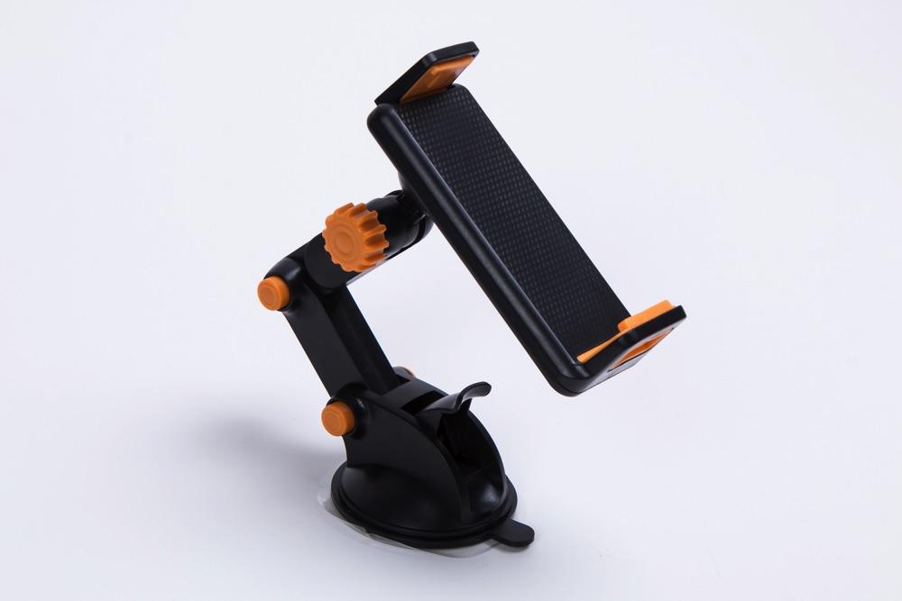 送料無料 激安販売 スマホ タブレット 車載 ホルダー バーゲンセール スタンド 三軸 アーム 角度 超人気 インチ~ 大型 対応 インチ 3.5 10.1 自由に調整可