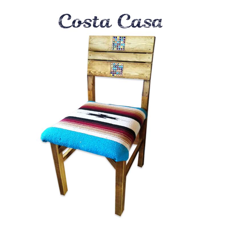 ダイニングチェア SURF99 Surf O-99 Dining Chair オルテガ 日本製 天然木カフェ風 西海岸スタイル ダイニング Costa Casa イス
