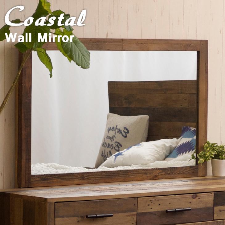 ウォールミラー 壁掛け鏡 壁掛けミラー サーフ系インテリア 西海岸風インテリア カリフォルニアスタイル