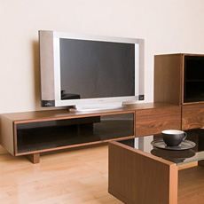 Crespo(クレスポ)160 TVボード ウォールナット 無垢材 日本製 (収納家具 テレビ台 木製 天然木 北欧家具 テレビボード カーサヒルズ モダン 寝室 リビングボード TV台 AVボード デザイナーズ家具 一人暮らし 引越し 北欧家具 家具)