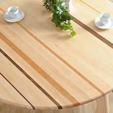 ラウンドダイニングテーブル 日本製 木製 天然木 インテリア 無垢 カーサヒルズ 食卓テーブル
