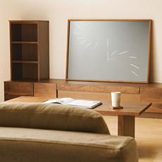 Grosse(グロッセ)40 オープンキャビネット ウォールナット 無垢材 日本製 (ウォールナット 木製 天然木 テレビボード リビングボード TV台 TVボード AVボード)