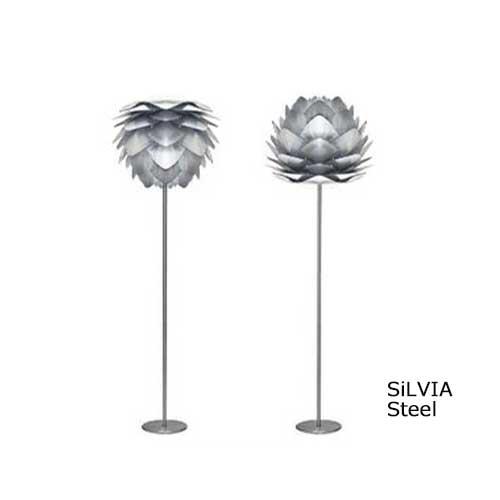 VITA ヴィータ SILVIA シルヴィア Steel スチール フロアライトElux エルックス 【ペンダントランプ ダイニング ペンダント照明 北欧照明】