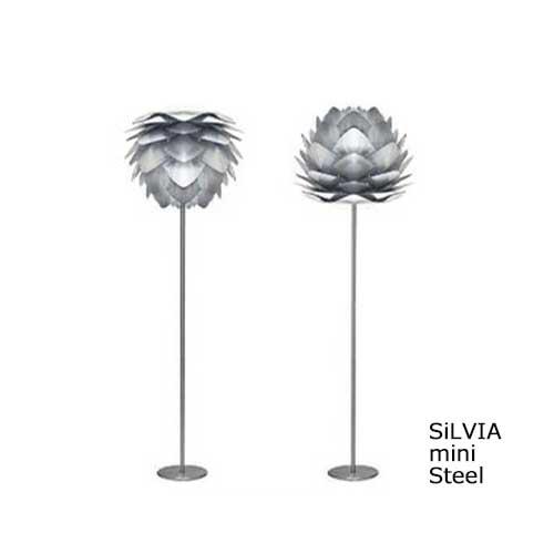 VITA ヴィータ SILVIA シルヴィア Steel スチール MINI ミニ フロアライト Elux エルックス 【ペンダントランプ ダイニング ペンダント照明 北欧照明】