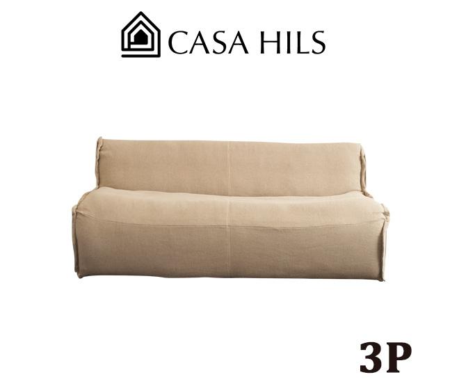 3人掛け オーガニック ソファ CR-30 (CASA HILS / LOHAS Style / Organic / 自然素材 / sofa / ソファー / デザイン家具)