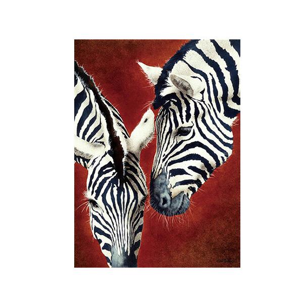 絵画 インテリアアート キャンバス パネルアート Zebra 個性派 60cm×80cm シングルアート
