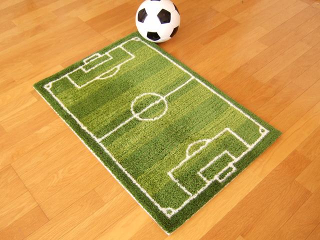 Football Stadium Pitch Border Rug Mat M Size Sfm 01