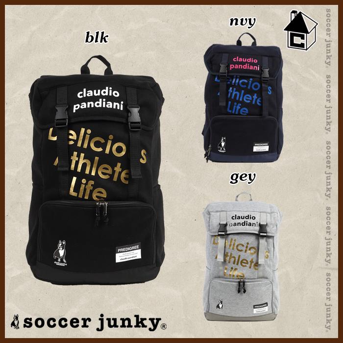 Soccer Junky【サッカージャンキー】バックパック〈リュック バッグ カバン 旅のおともスウェット編+1 パンディアー二君〉CP17564
