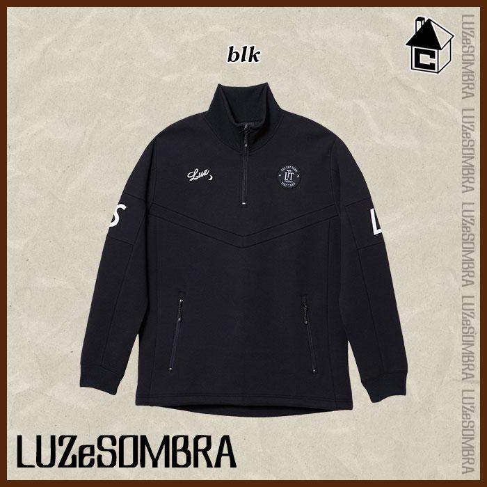 LUZ e SOMBRA TOP TEAM【ルースイソンブラ トップチーム】LTT TECHNICAL CLOTH HALF ZIP TR JERSEY TOP〈ハーフジップ ジャケット ジャージ〉T1811124
