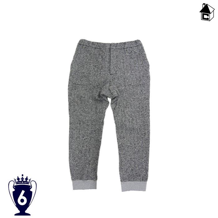 【SALE50%OFF】6-Yard box【シックスヤードボックス】Herrinbone Tweed Easy Trouser〈セール サッカー フットサル ヘリンボーンツイードイージートルソー〉SYS5002