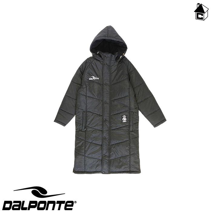 DalPonte【ダウポンチ】ベンチコート〈サッカー フットサル ベンチウォーマー ダウン 防寒着〉DPZ84