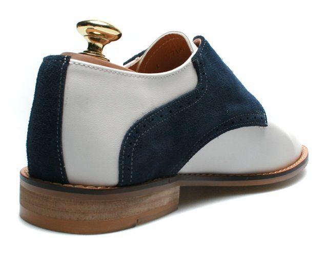 Firenze Atelier 핸드메이드 가죽 캐주얼 안장 신발 가죽 신발 피렌체 아 뜨 리에 사이즈 교환 가능 소가죽 + 스웨이드 (가죽) 레드 그린 카 퍼플 네이 비 사이즈 24.0 cm ~ 30.0 cm