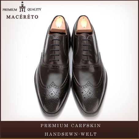 6b95c0ca42c52 ビジネスシューズ 日本製 革底 革靴 ウイングチップ ダークブラウン ...