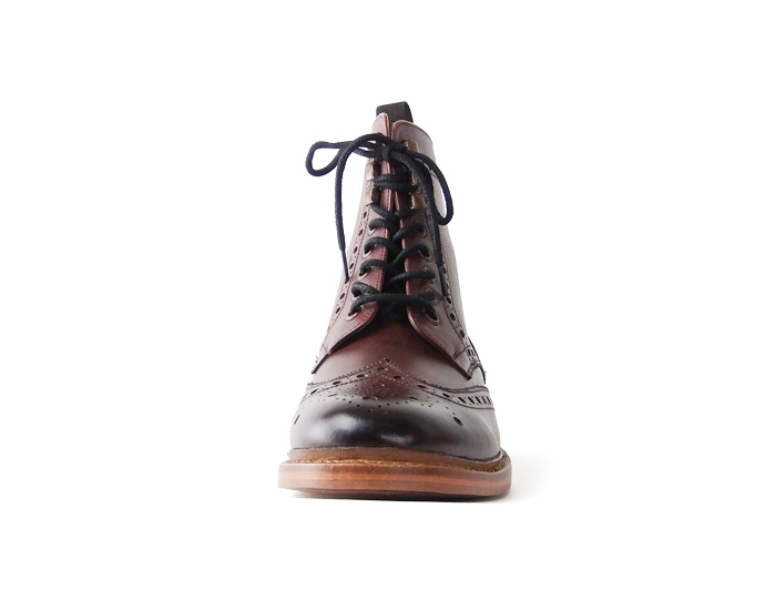 8b83bea3657 Country boots (red) London shoemake Goodyear mens leather leather short  boots