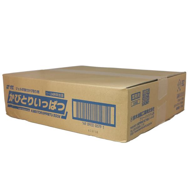 かびとりいっぱつ(旧品名:カビとり一発)500g 10本セットケース販売 【業務用 かび取り】